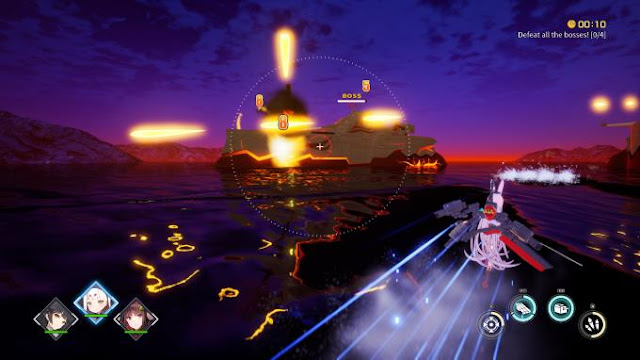Azur Lane Crosswave role-playing action game, which is a spin-off of the popular mobile game Azur Lane, developed by Chinese studio Shanghai Manjuu Technology.