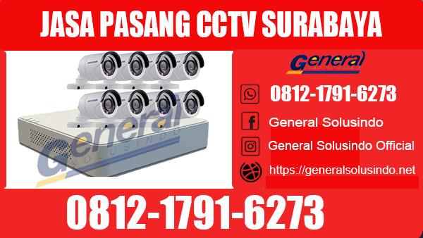 Jasa Pasang CCTV Gayungan Surabaya