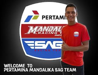 Bo Bendsneyder, Pembalap Pertamina Mandalika SAG Team Berdarah Surabaya