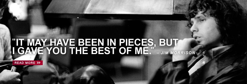 Forever 27 Club Jim Morrison