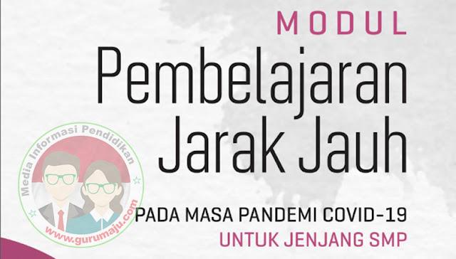 Download Modul PJJ Bahasa Indonesia Kelas 7 SMP Semester 1