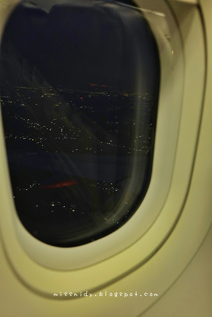 Pemandangan Jakarta dari pesawat