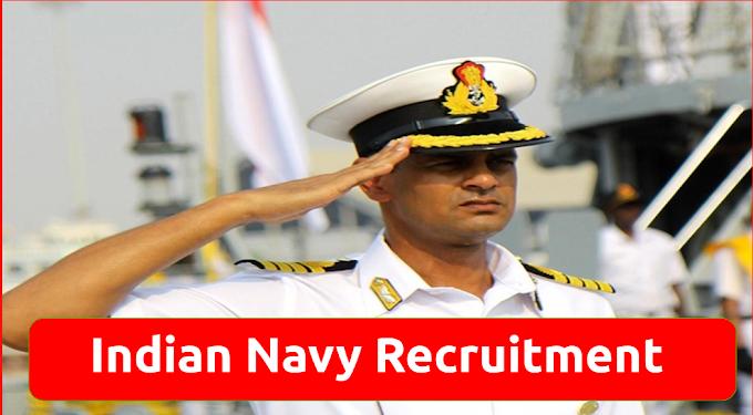 Indian Navy Recruitment Sailor Job