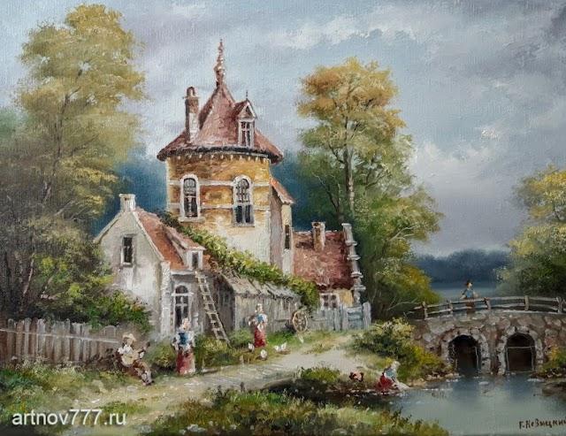 Голландский пейзаж 2