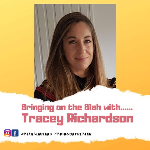 Blah with......Tracey Richardson from Positive in Mind   Blah Blah Land Podcast S1 06