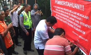 Ahli Waris Buka Segel, Plt Sekdakot Sanggupi Mediasi