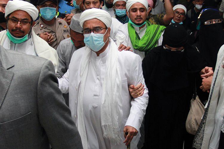 Hal Ini Dianggap Jadi Pemberat Habib Rizieq Dituntut 10 Bulan Bui