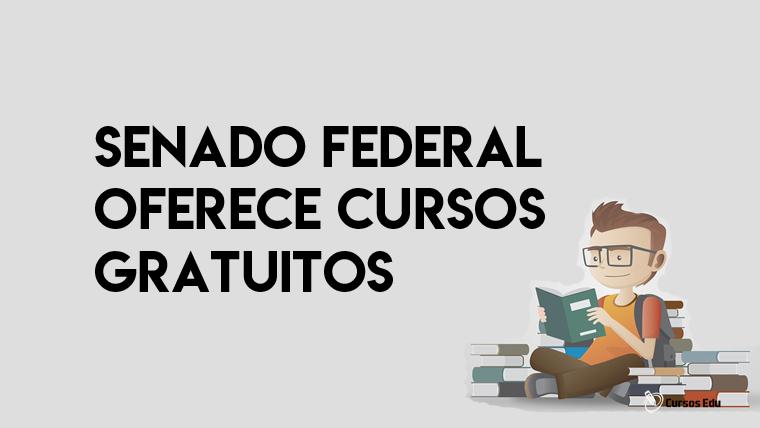 Senado Federal oferece cursos online grátis
