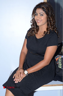 Tollywood Actress Geethanjali Thasya Latest Pos in Black Short Dress at Nanna Nenu Na Boyfriends Audio Launch  0036.JPG