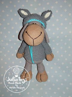 192 Crochet Pattern - Arnold the Wolf - Amigurumi toy PDF file by ... | 320x240