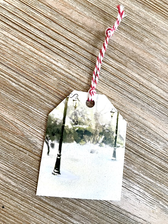 Recycle Old Christmas Cards to Use Next Christmas!