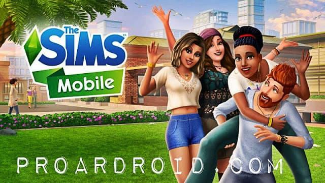 لعبة The Sims Mobile v17.0.0.77348 مهكرة للأندرويد (اخر اصدار) logo