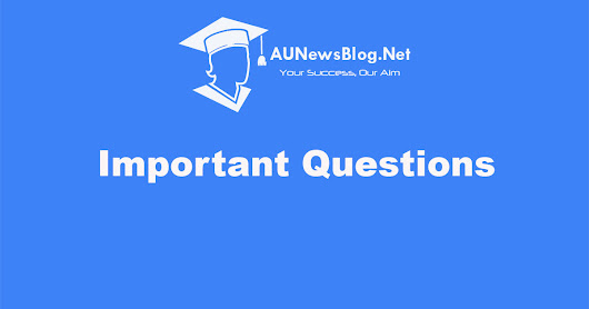 Anna University 3rd Sem Important Questions, Notes, Question Bank, Question Papers for ECE R2017