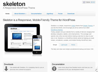 WP THEME#5: SKELETON