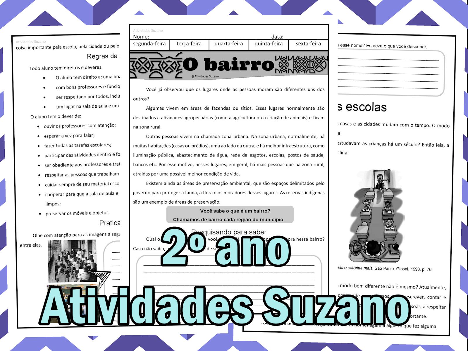 23 09 B 1 Atividades Preparatórias 2 Ofertas: Atividades Pedagogica Suzano: Geografia