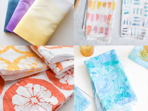 10 DIY Tea Towels You Can Make