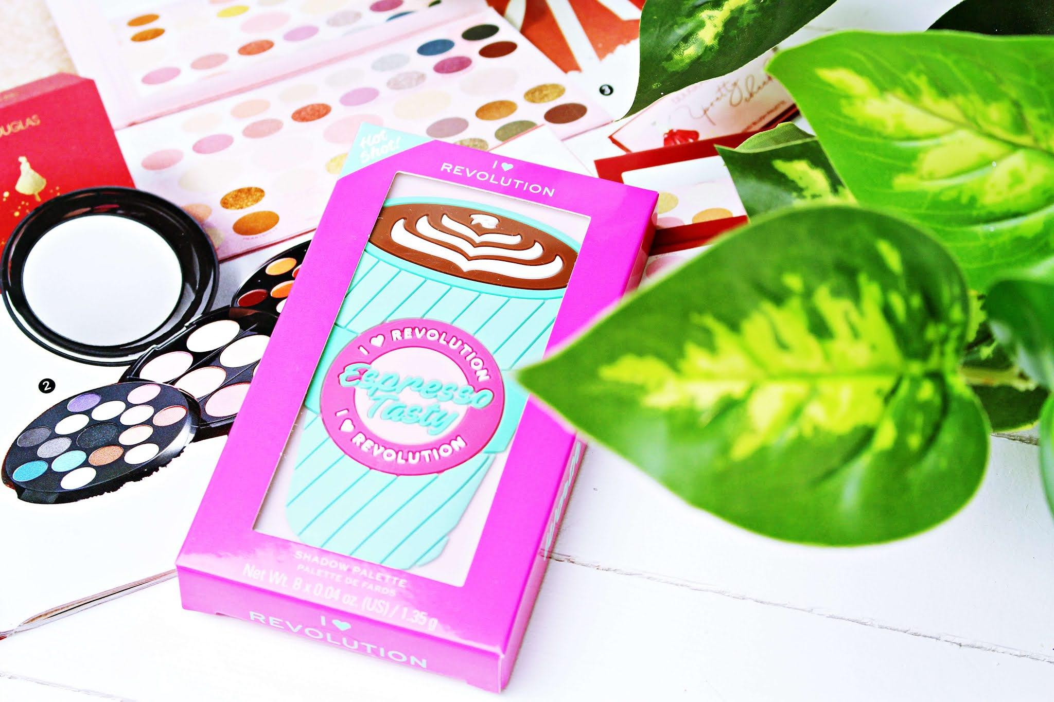 Paletka cieni Makeup Revolution Mini Tasty Espresso