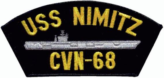 USS Nimitz CVN 68 patch