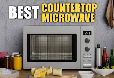 Best rated compact countertop microwave ovens