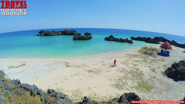 Hidden Paradise in the South End of Indonesia, Indonesia's southernmost island, the beauty of Indonesia, tourist Indonesia, island tours rote, surfing, sunbathing in Indonesia