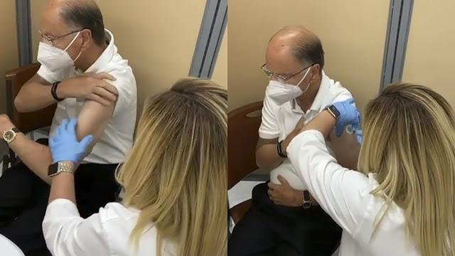 Em Miami, Edir Macedo toma vacina contra o coronavírus indisponível no Brasil
