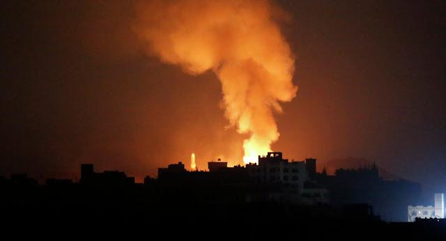 أول تعليق للسيد على القصف المرعب للعاصمة صنعاء