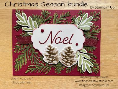 Christmas Season bundle card