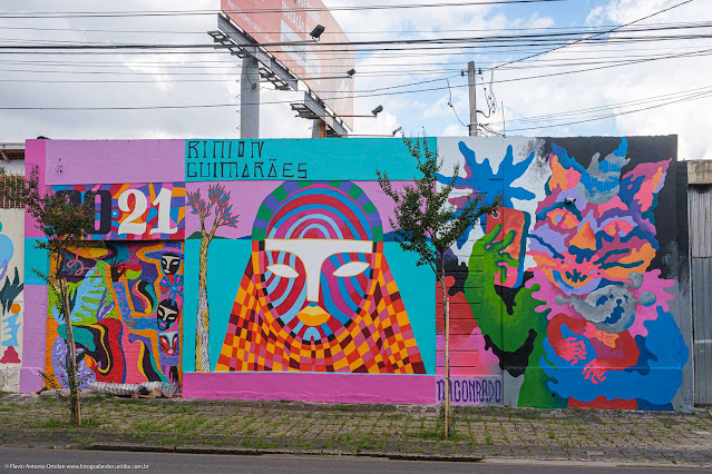 Grafite na Rua José de Alencar