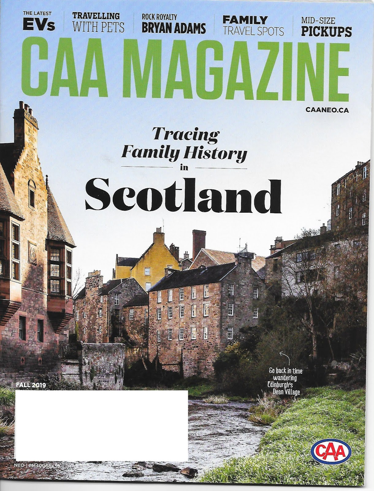 Canada's Anglo-Celtic Connections: CAA does family history