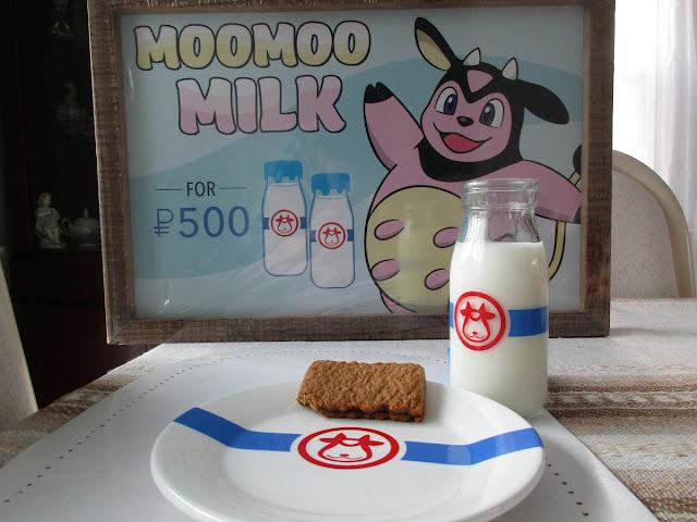 Moomoo Milk Pokémon Holiday Home Bottle Plate Set Sign
