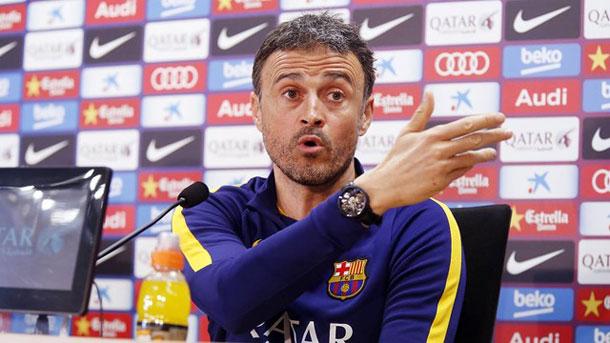 No te pierdas la rueda de prensa de Luis Enrique previa al Rayo-Barça