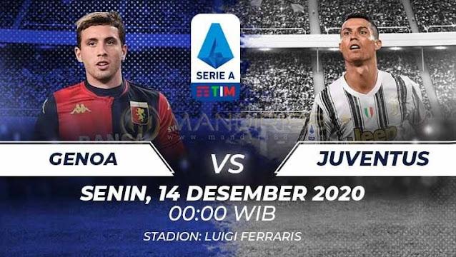 Prediksi Genoa Vs Juventus, Senin 14 Desember 2020 Pukul 00.00 WIB @ RCTI