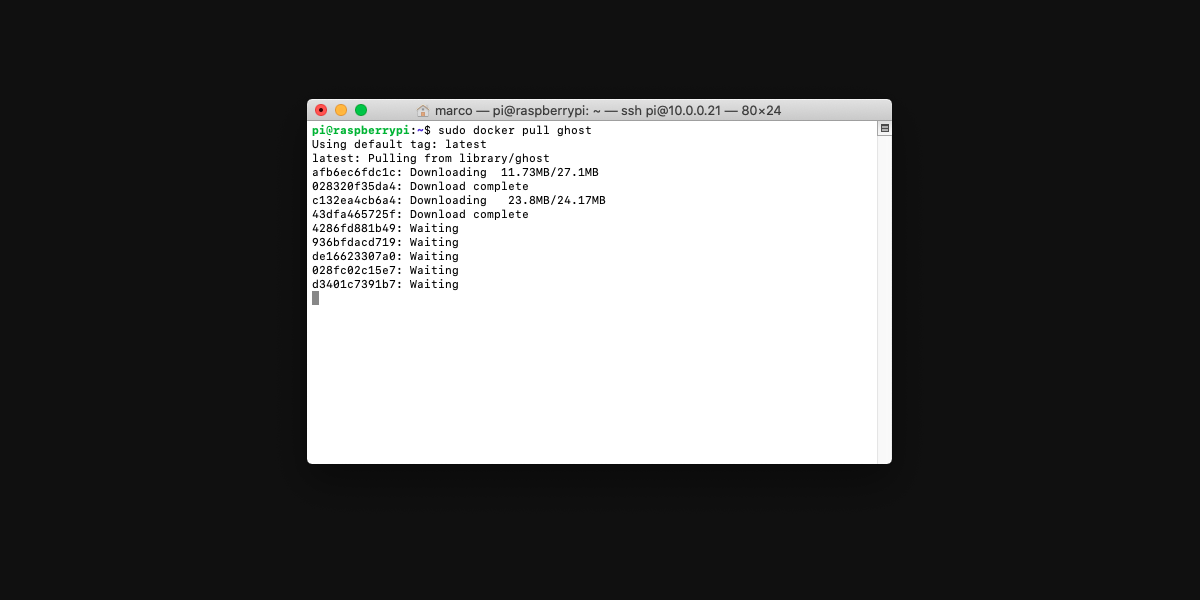 Come installare Ghost su Docker
