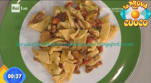 Tallarinus con cozze e funghi ricetta Rossi da Prova del Cuoco