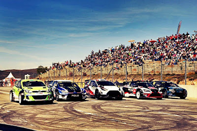 2018 World RX official entry list.