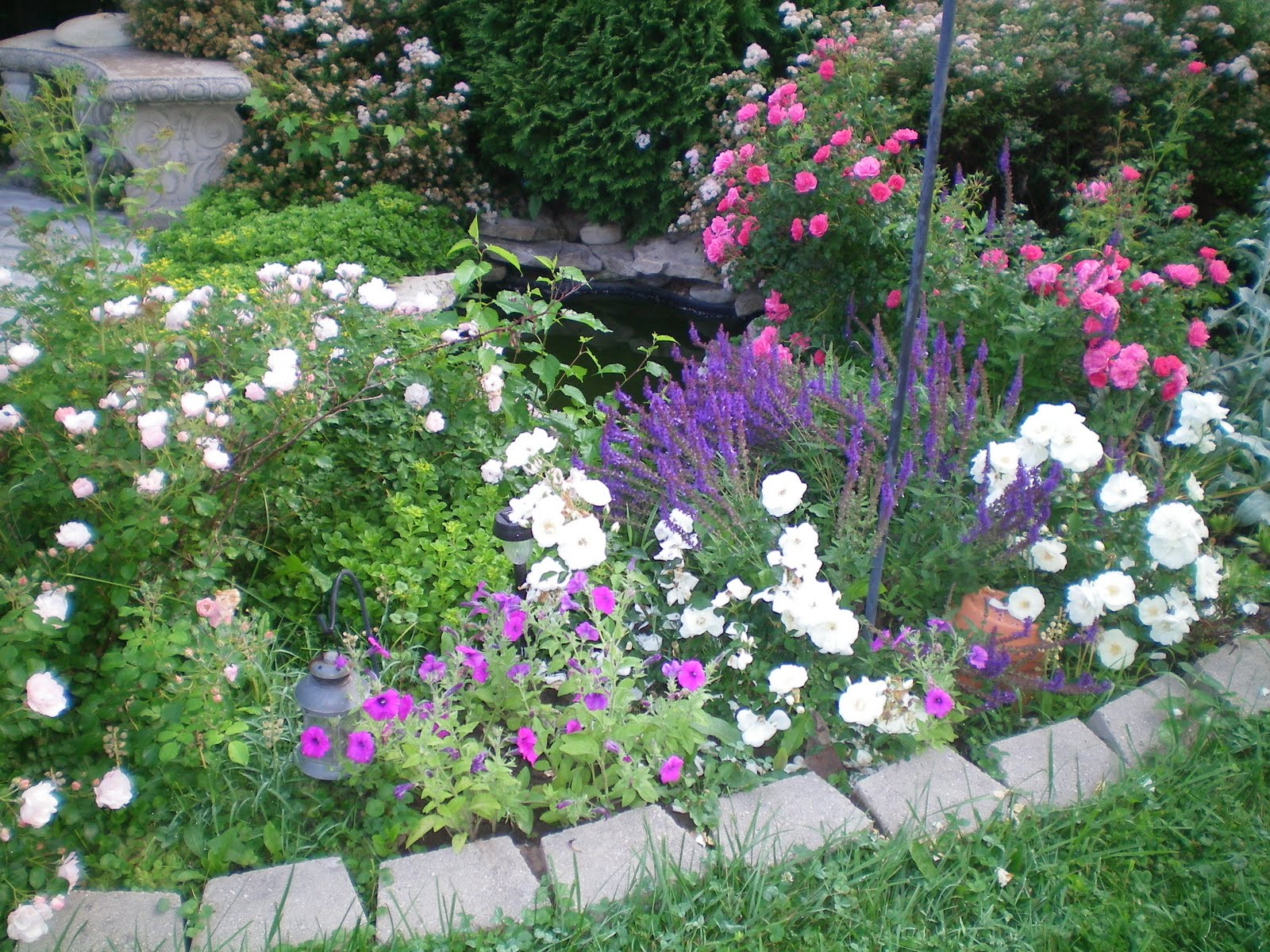 American Homestead: My Dream Garden on My Dream Patio  id=95426