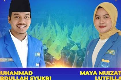 Selamat! Muhammad Abdullah Syukri Ketum PMII, Maya Muizzatil Ketum Kopri