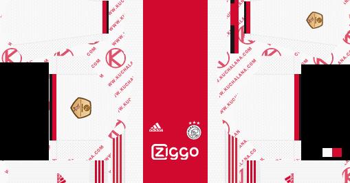 AFC Ajax 2019/2020 Kit - Dream League Soccer Kits - Kuchalana