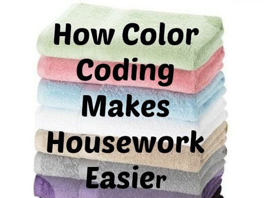 How Color Coding Makes Housework Easier