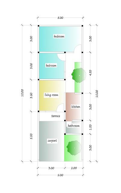 floor plan of beautiful house plan 03