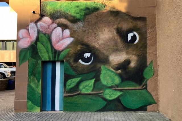 В Уфе ко Дню республики появилось новое граффити