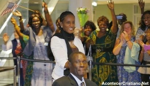 Meriam Ibrahim cristiana que se salvó de morir