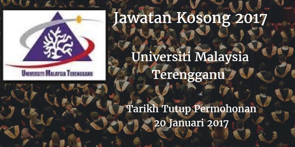 Jawatan Kosong UMT 20 Januari 2017