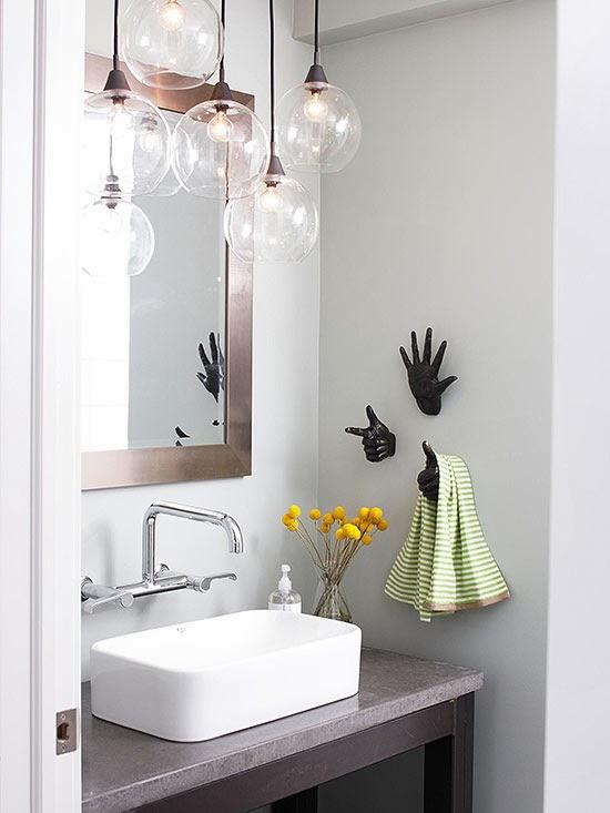 Modern Furniture 2014 Stylish Bathroom Lighting Ideas