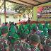 Ratusan Masyarakat Hadiri Bazar Sembako Murah HUT ke-70 Yonif PR 305/Tengkorak