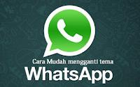 Cara Merubah Tampilan Whatsapp dengan Tema Menarik