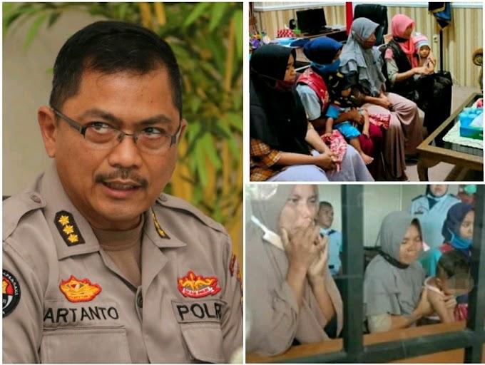 Kasus Penahanan 4 IRT Beserta Balita Di Loteng, Polda NTB Angkat Bicara