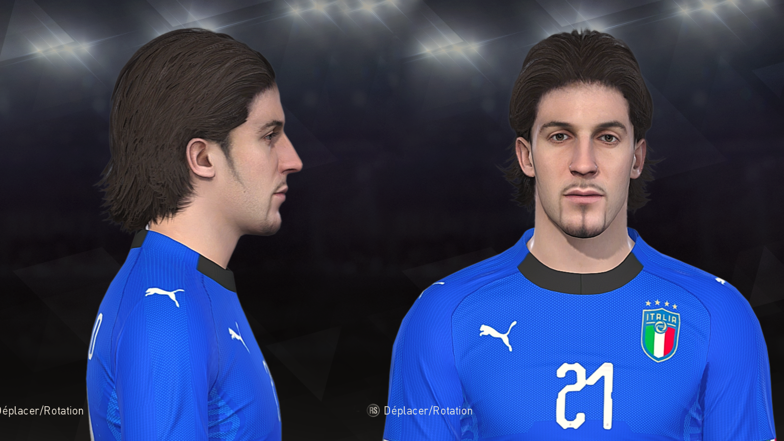 PES 2018 Del piero face with long hair by Prince Hamiz