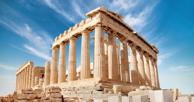 Interesting Facts History of the Great Temple of the Greek Goddess Athena Parthenon