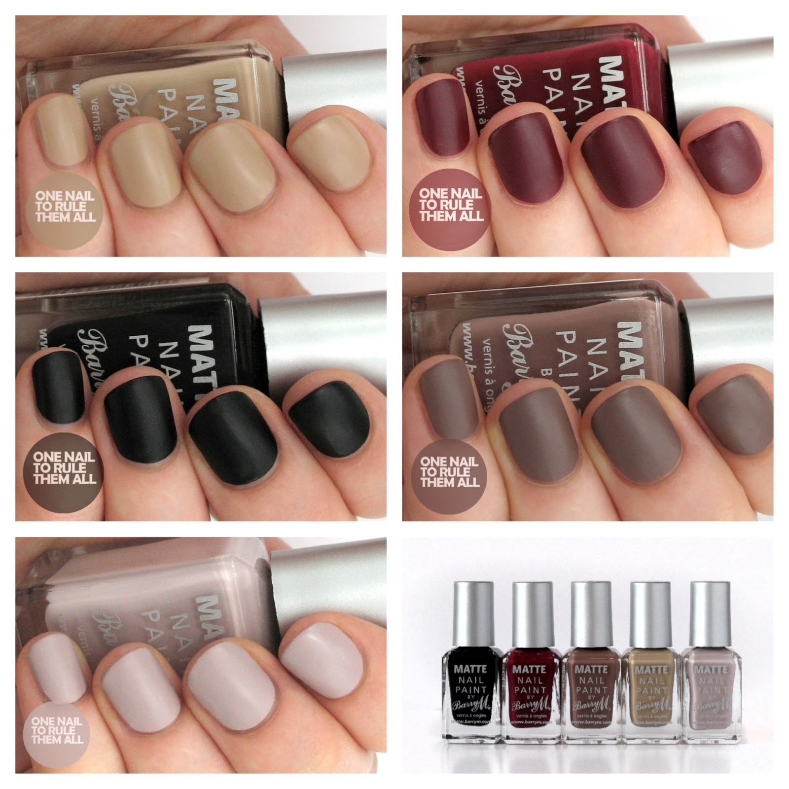 Barry M Autumn/Winter 2013 Classic Matte Nail Polish Collection ...